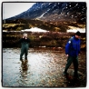 Paddling - the River Etive