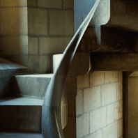 Sagrada Spiral Stairs (2)